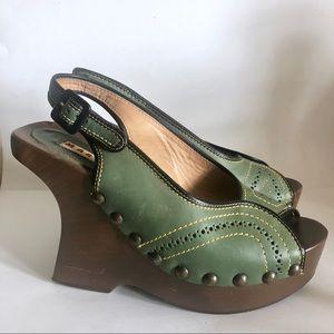 Marni platform wedge sandals EU37
